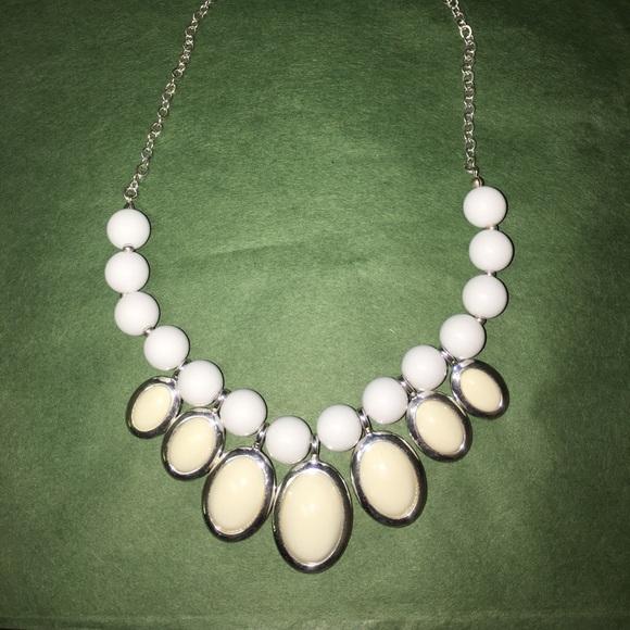 Liz Claiborne Women's White Necklace